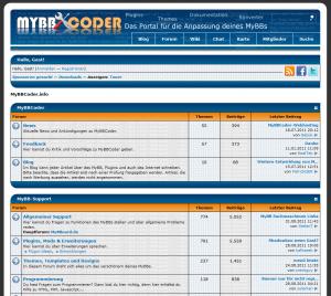 MyBBCoder kurz vor der Fusion